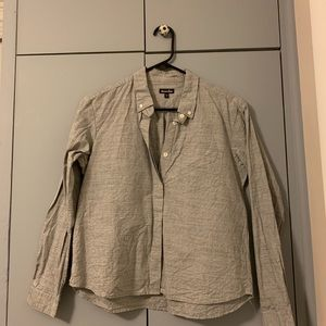 Steven Alan light grey button down